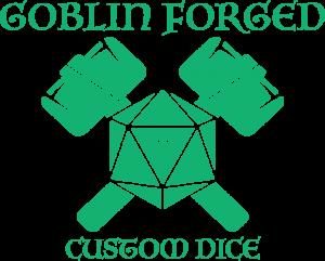 Goblin Forged Custom Dice Logo
